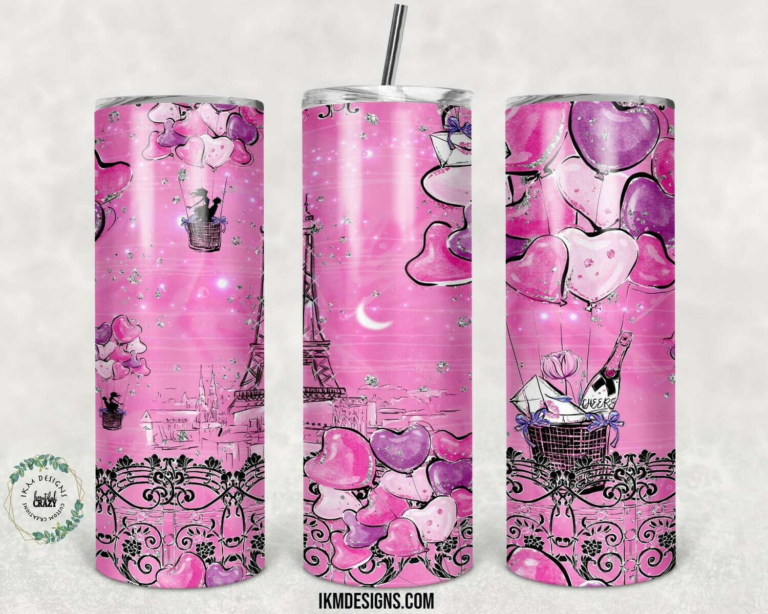 """20oz Skinny Tumbler Valentines Tumbler  "" Digital Download"