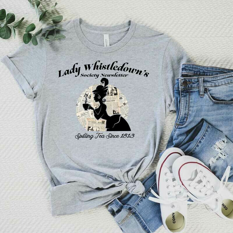 """Graphic T-Shirt """"Lady Whistledown's ..."""""""