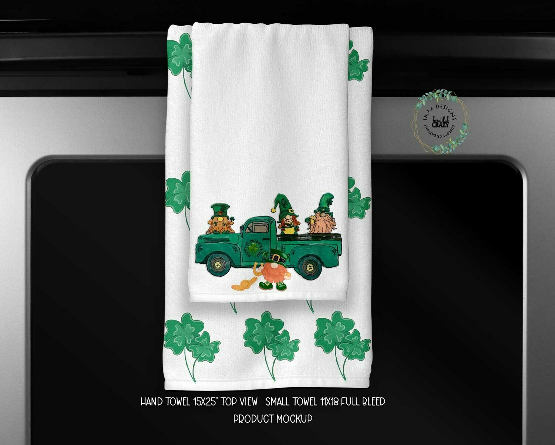 St. Patrick's Day Towels Set