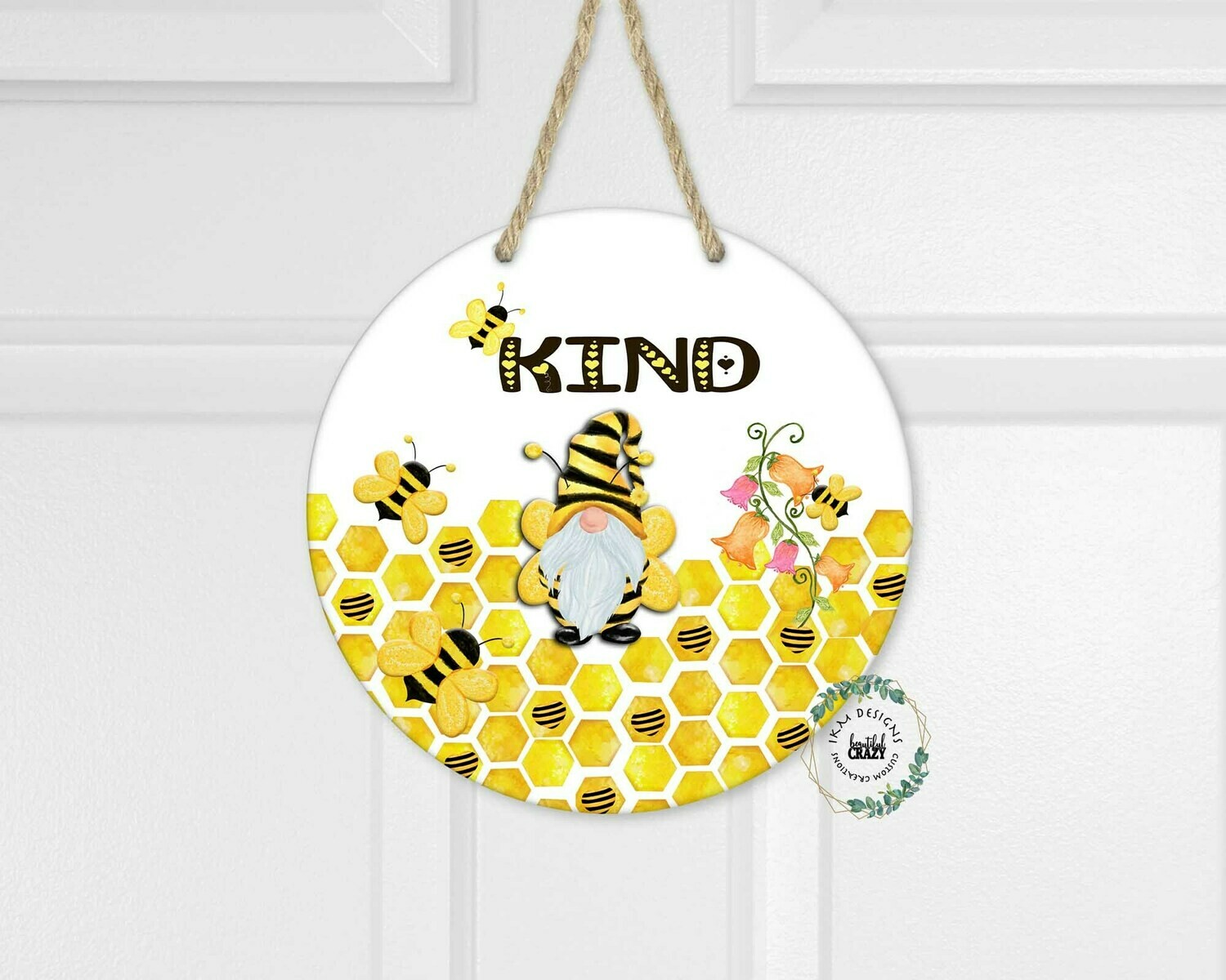 Be Kind Round Digital Design for Sublimation