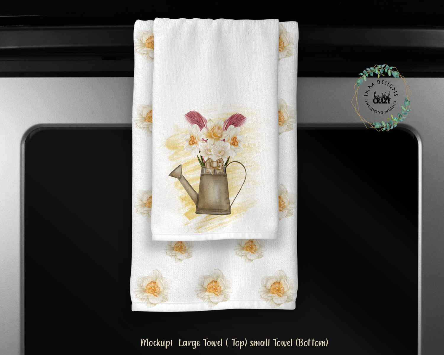 Welcome Spring  Towels Set