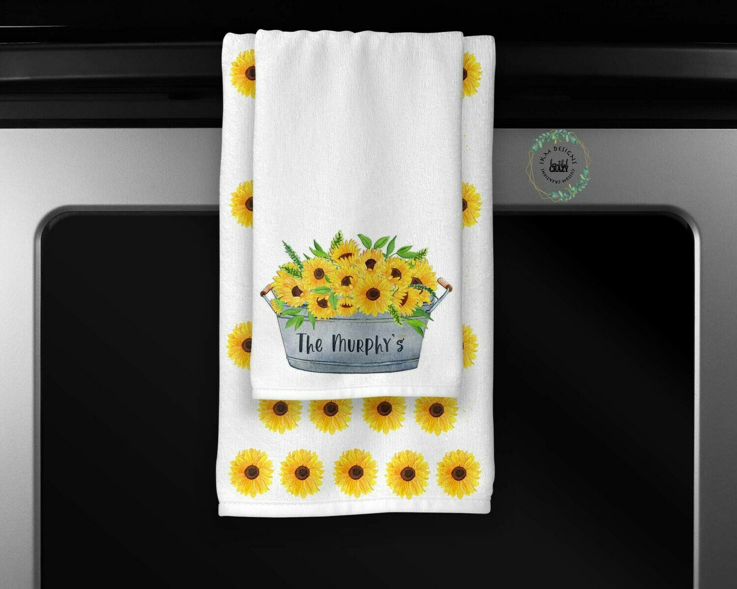 Sunflower Towel Set