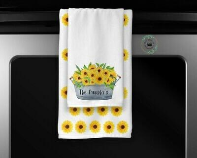 Sunflower Towel Set