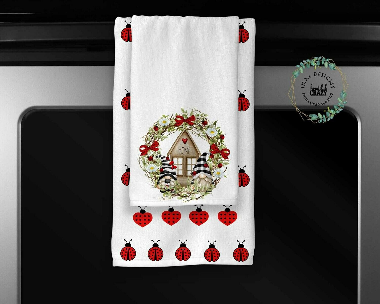 Super-Cute Gnome Towel Set