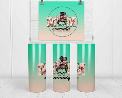 Free Download Sublimation template for 20oz Tumbler!