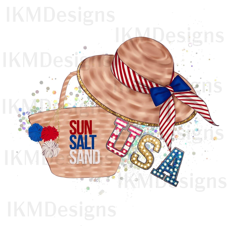 Digital Downloads Sun Salt Sand