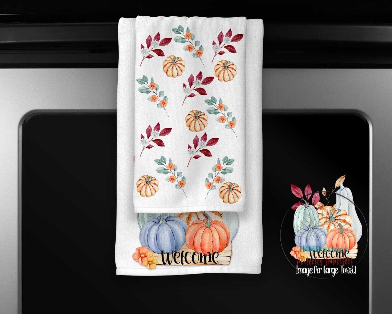 NEW Fall Towel Set