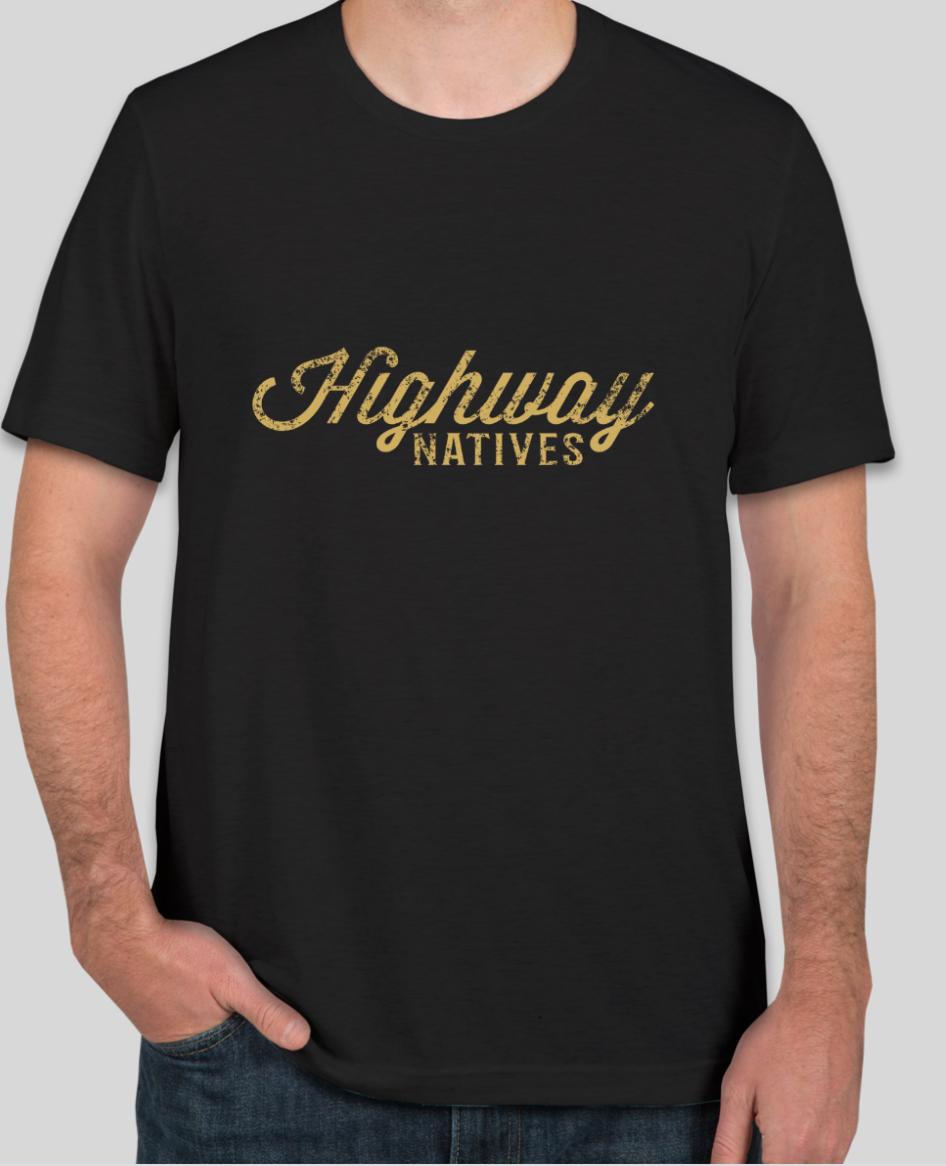 Highway Natives Distressed Logo T-Shirt
