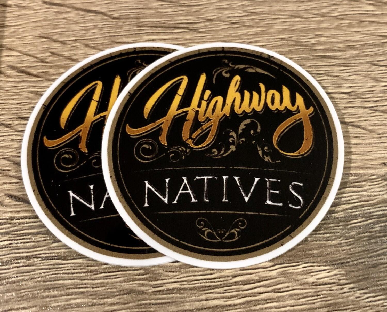 Highway Natives Sticker