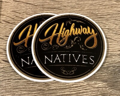Highway Natives Sticker