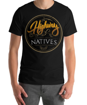 Highway Natives Circle Logo Tee