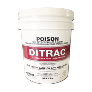 DITRAC RODENTICIDE BLOX 8KG