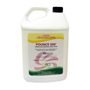 POUNCE 500 TIMBER & RESIDUAL INSECTICIDE