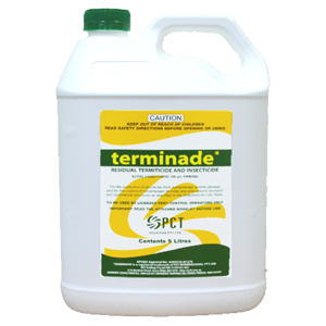 TERMINADE RESIDUAL TERMICIDE & INSECTICIDE 5L