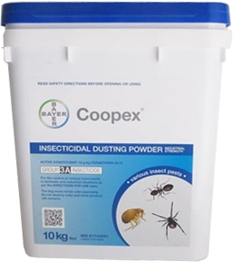 COOPEX INSECTICIDAL DUSTING POWDER 10Kg