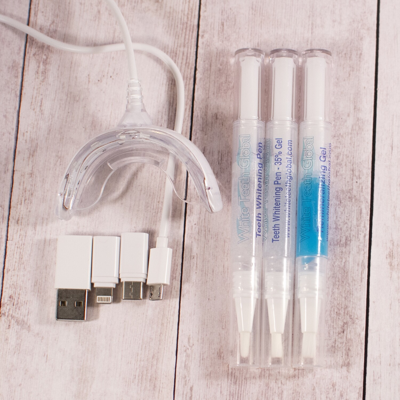 iLED Teeth Whitening Kit