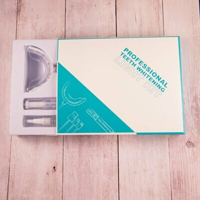 Teeth Whitening Kit with 2 pens and iLed Light