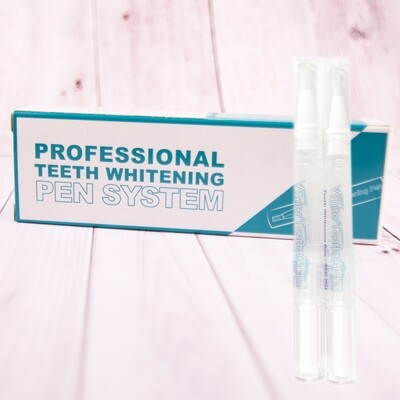 Teeth Whitening Two 4ml Pens Kit with Carbamide Peroxide Tooth whitening Gel
