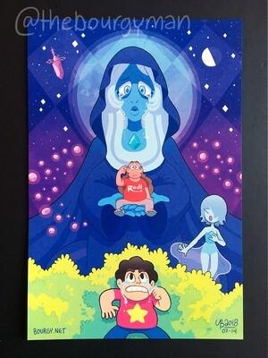 Blue Diamond (Steven Universe) poster/affiche