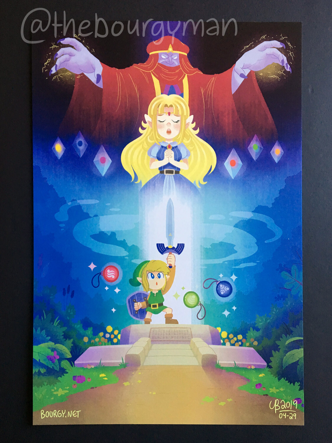 A Link To The Past (Legend of Zelda) poster/affiche