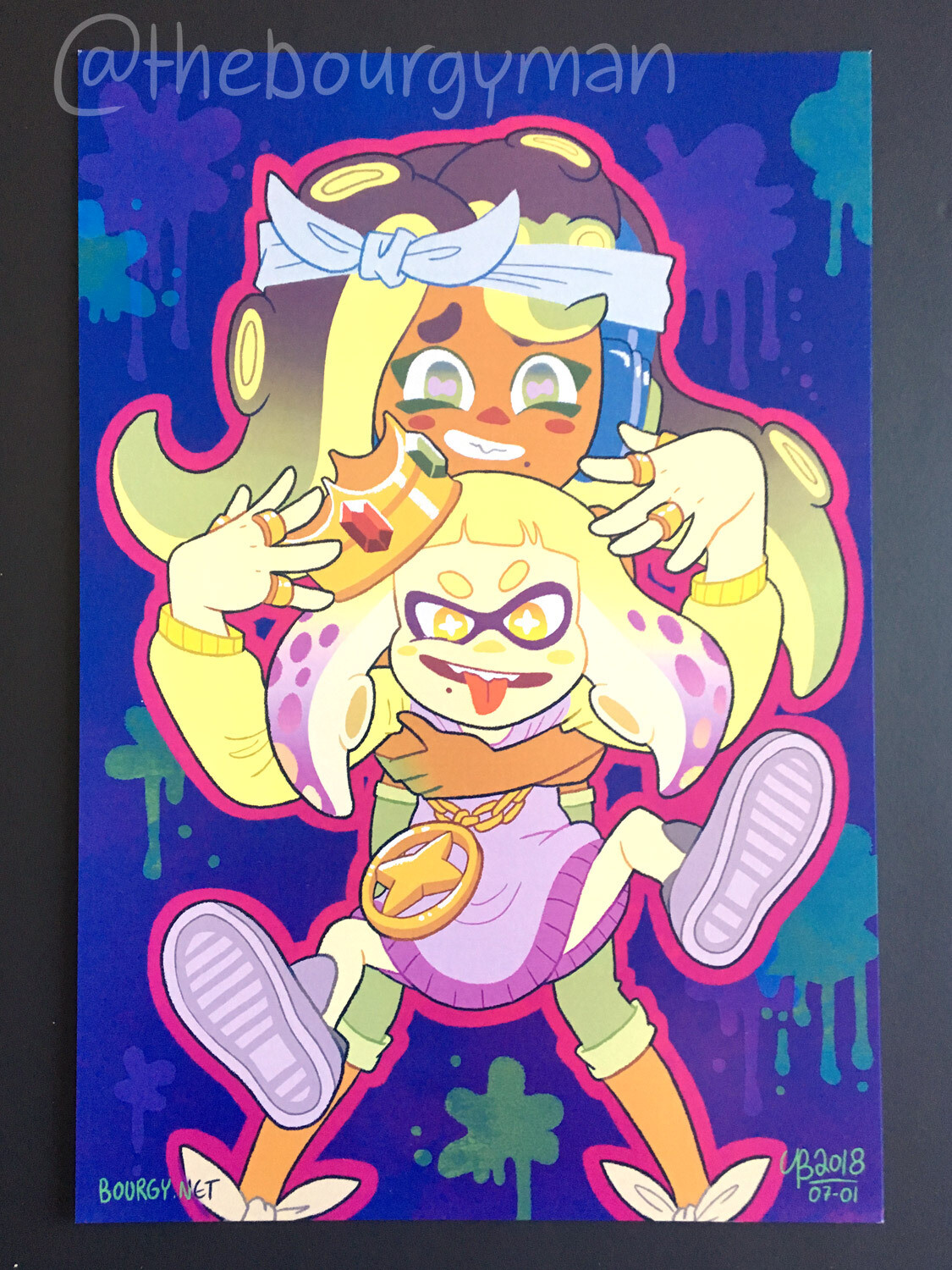 Off The Hook (Splatoon 2) poster/affiche