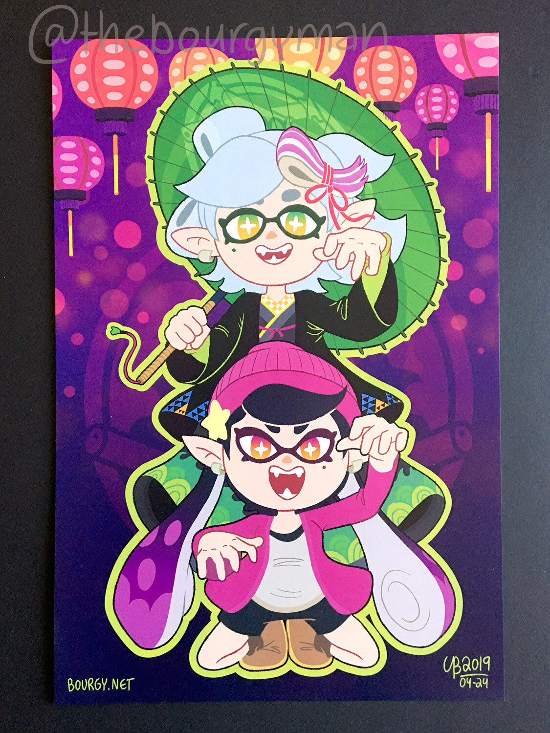 The Squid Sisters (Splatoon 2) poster/affiche