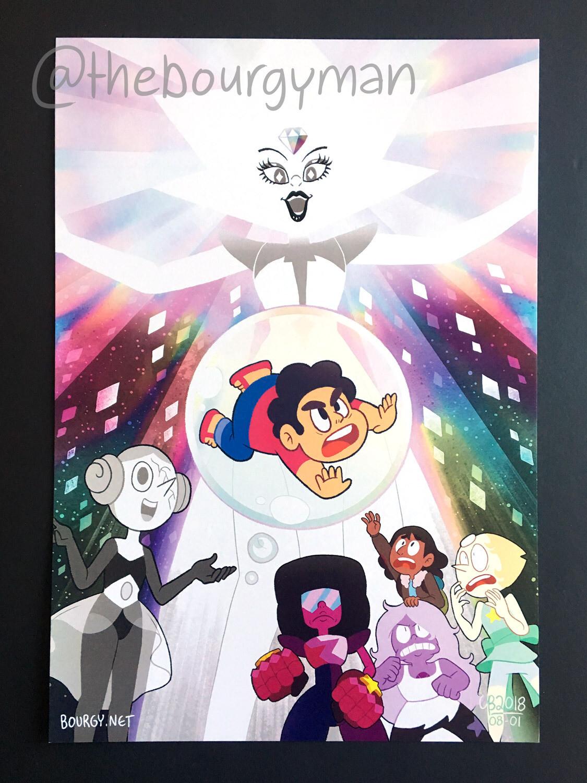 White Diamond (Steven Universe) poster/affiche