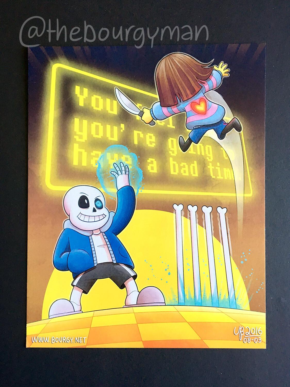 Sans (Undertale) poster/affiche