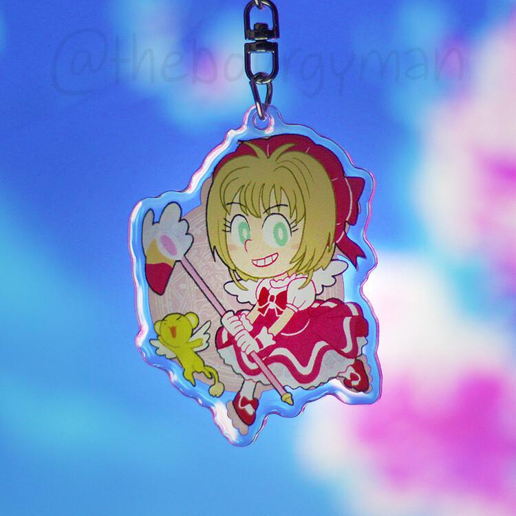 "Cardcaptor Sakura 2.5"" acrylic charm/porte-clé acrylique"