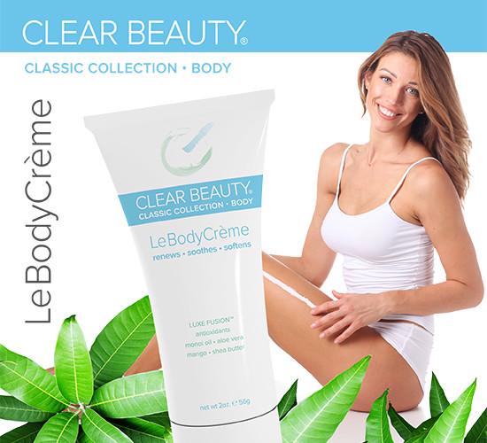Clear Beauty™ Le Body Crème™