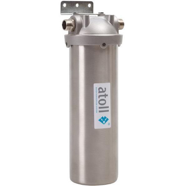 Магистральный фильтр Atoll I-11SM-p STD с картриджем для горячей воды