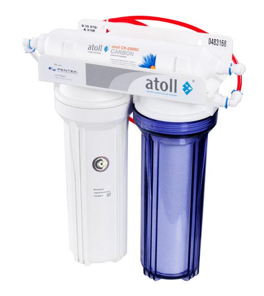 Компактный питьевой фильтр Atoll D-30s