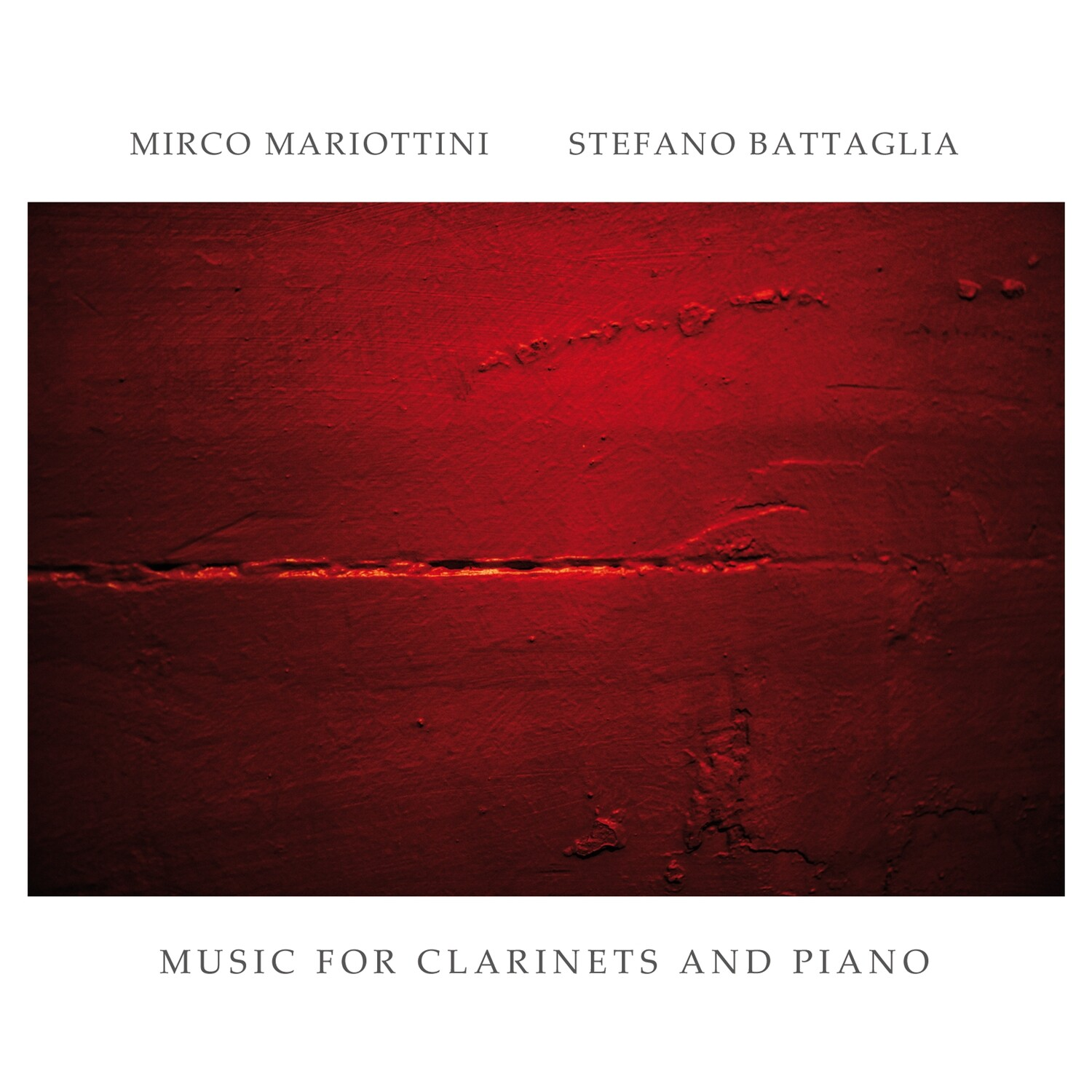 Mirco Mariottini & Stefano Battaglia «Music for Clarinets and Piano»