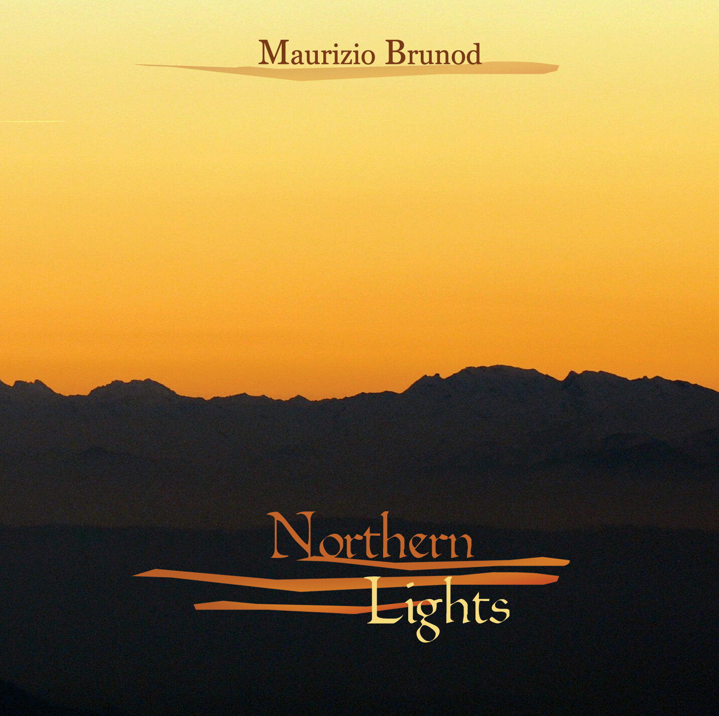MAURIZIO BRUNOD «Northern lights» (solo in digitale/only digital)