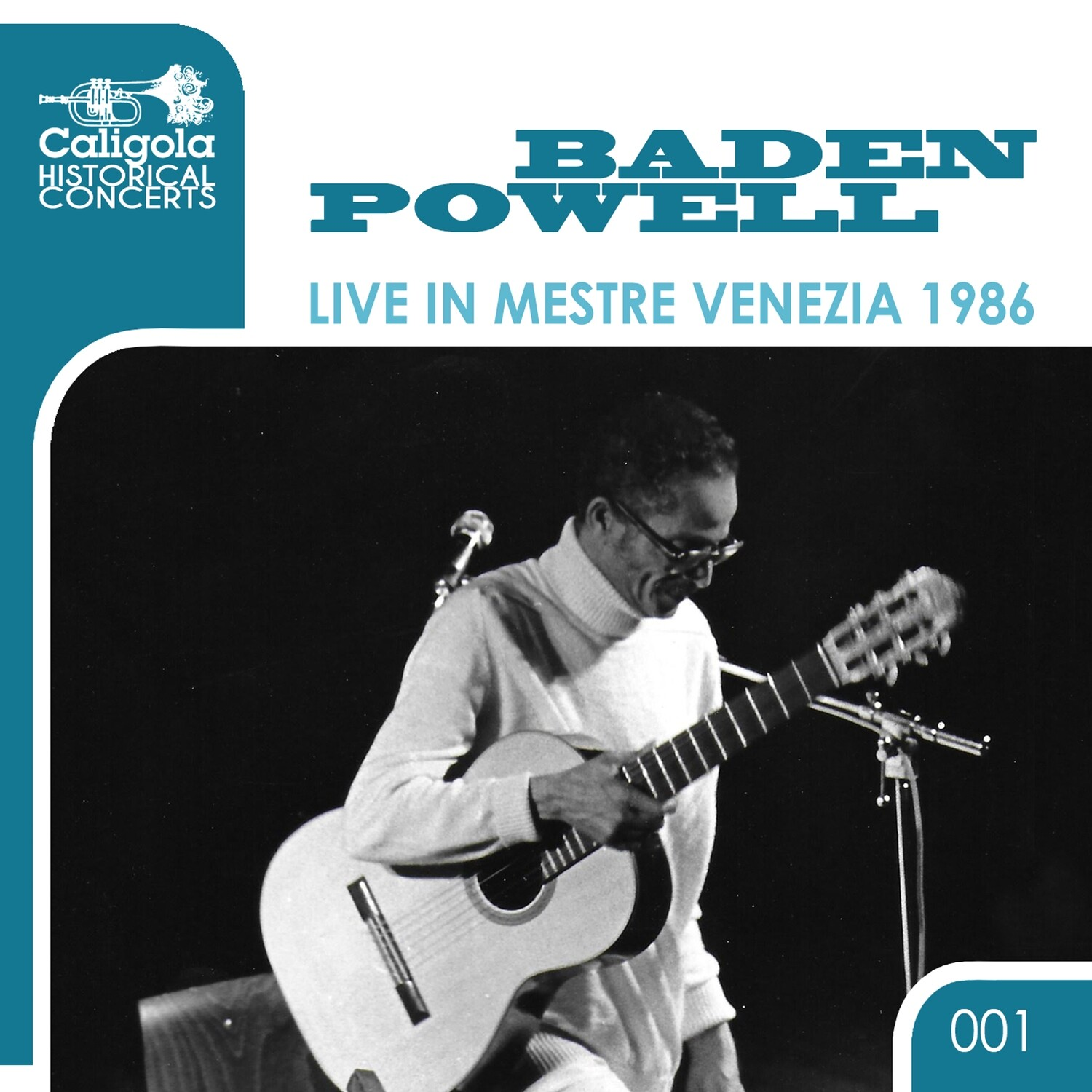 BADEN POWELL «Live in Mestre Venezia 1986» (files .wav + covers .jpeg + booklet .pdf)