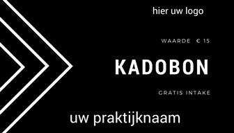 Kado-/waardebon A6