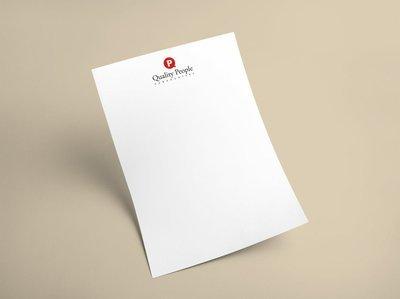 Briefpapier A4 (enkelzijdig full color bedrukt)