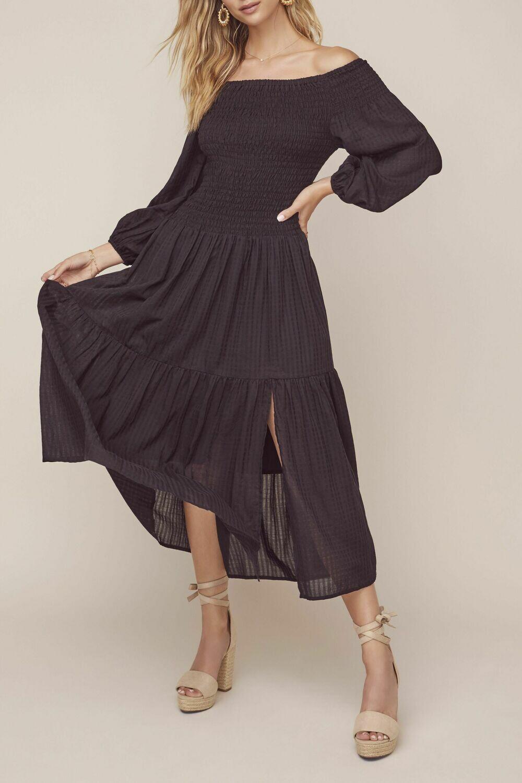 ASTR Utopia Black Dress