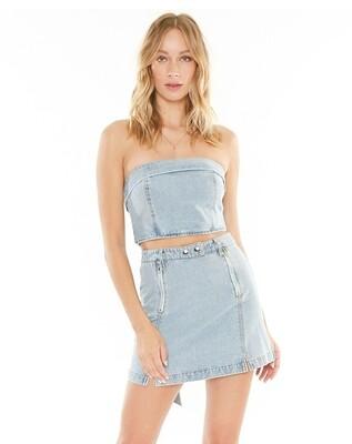 4si3nna Royce Denim Skirt