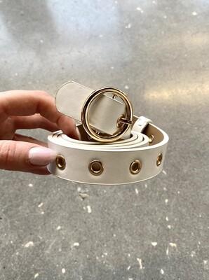 Gold Grommet Belt