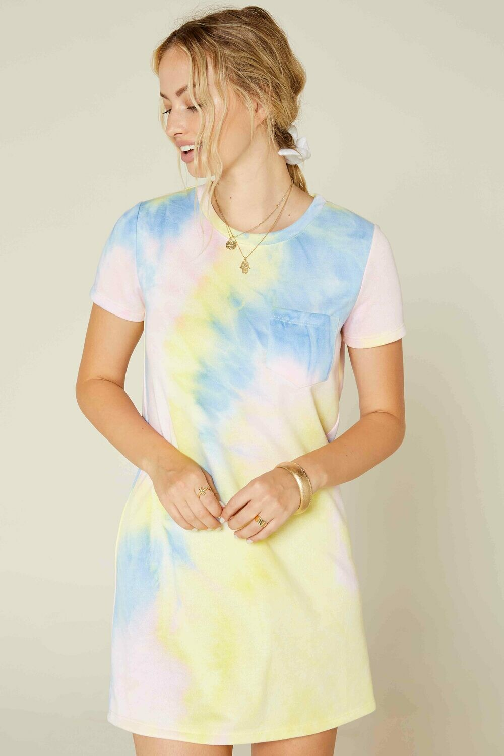 Sadie & Sage Tie-Dye T-Shirt Dress