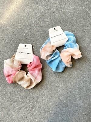 Tie Dye Hair Scrunchie