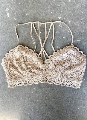 Crochet Lace Multi Strap Bralette