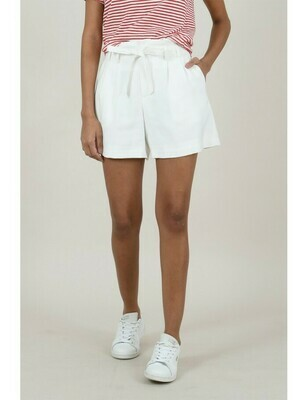 Belted Shorts White