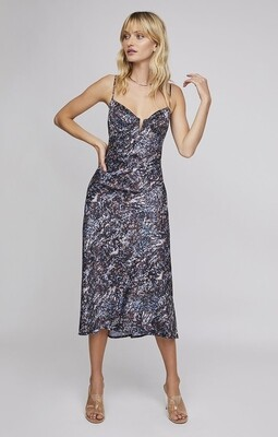 ASTR Midnight Midi Dress