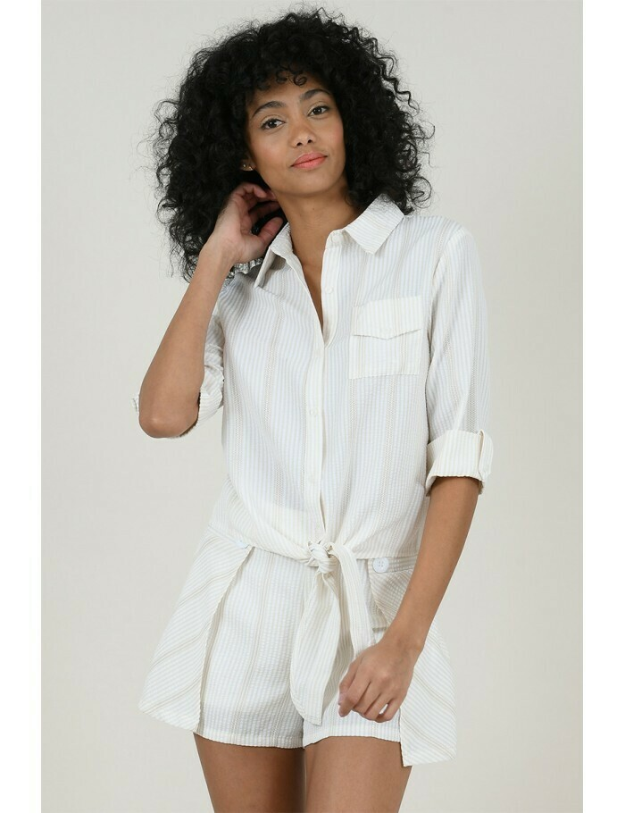 Molly Bracken Tie Shirt