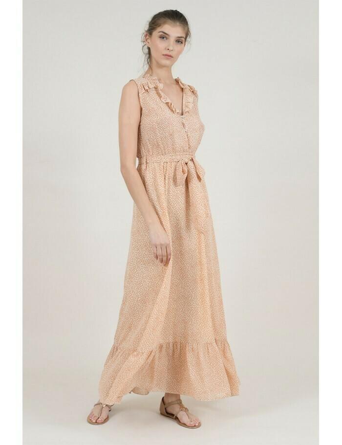 Molly Bracken Woven Maxi Dress