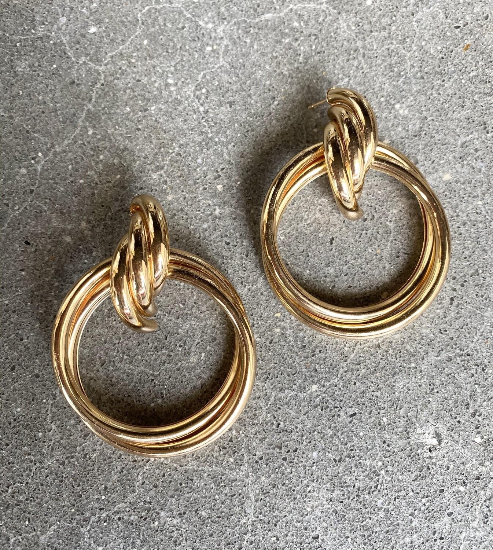 Hoops Oversized Drop Earrings