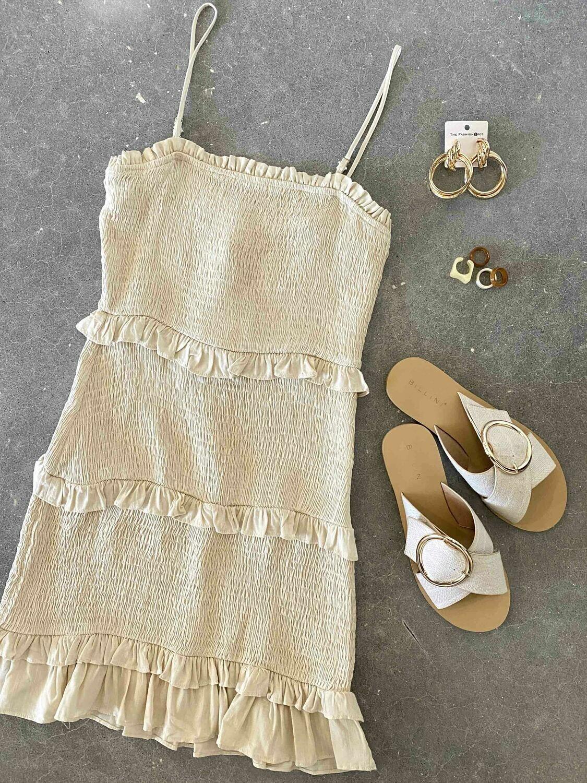 Le Lis Ruched Dress