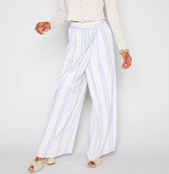 Sadie & Sage High Tide Stripe Pants
